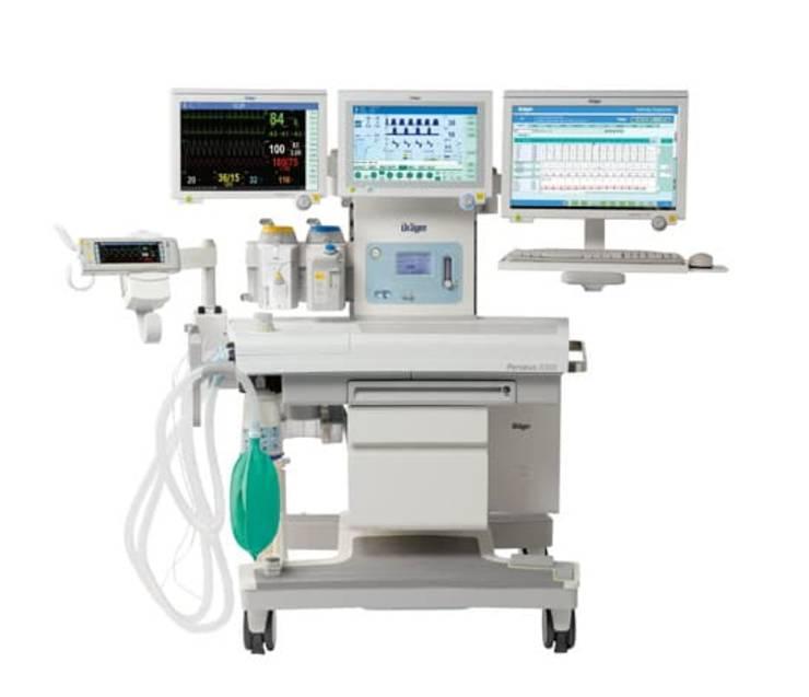 masina de anestezie