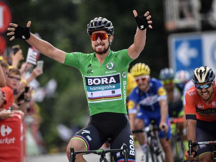 Peter Sagan câștigă la sprint la Quimper
