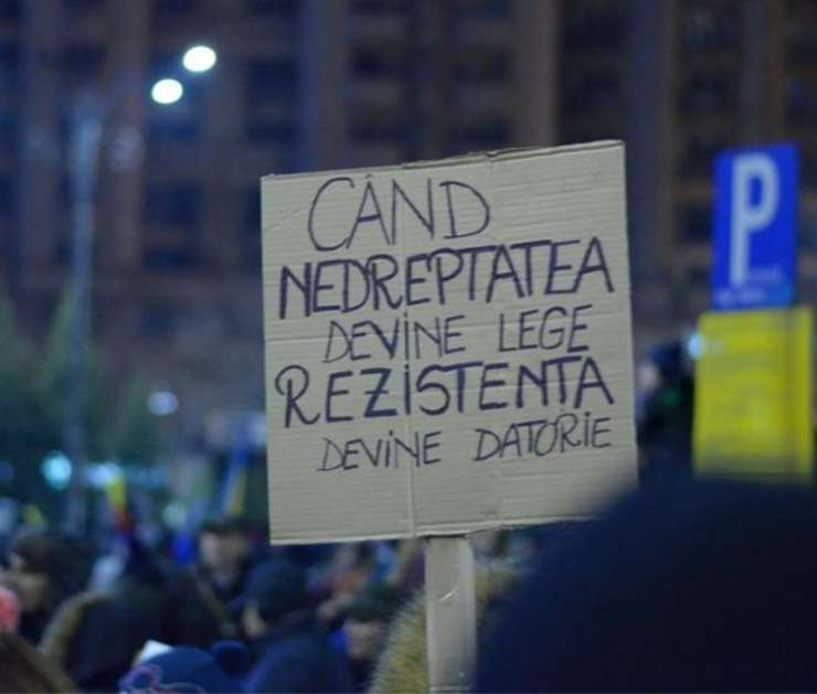 Proteste de stradă - arhivă (Sursa foto: declic.ro)