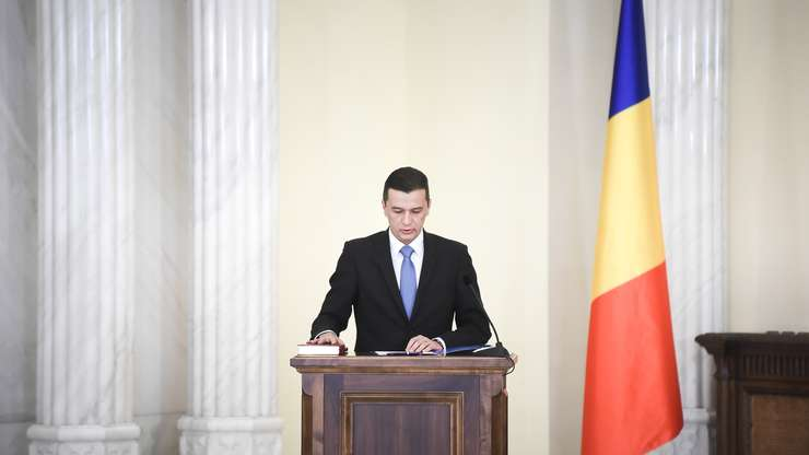 Premierul Sorin Grindeanu (Sursa foto: www.presidency.ro)