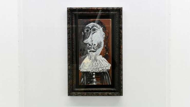 """""""Bust de muschetar"""", pictat în 1968 de Picasso, a fost cumpàrat pe internet de un grup de 25.000 de oameni"""