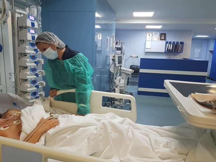 Sorina Pintea le-a vizitat pe persoanele rănite în accidentul din Ialomiţa şi internate în Capitală.