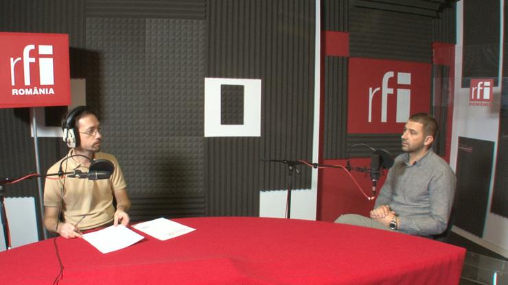 Cosmin Ruscior și Gabriel Păun la RFI