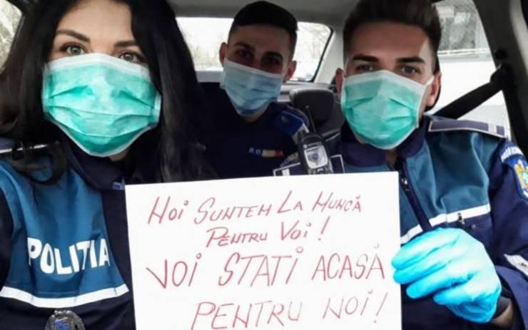 """72,4% dintre români au încredere în poliţişti în contextul luptei cu coronavirus, arată sondajul publicat azi de """"Adevărul""""."""