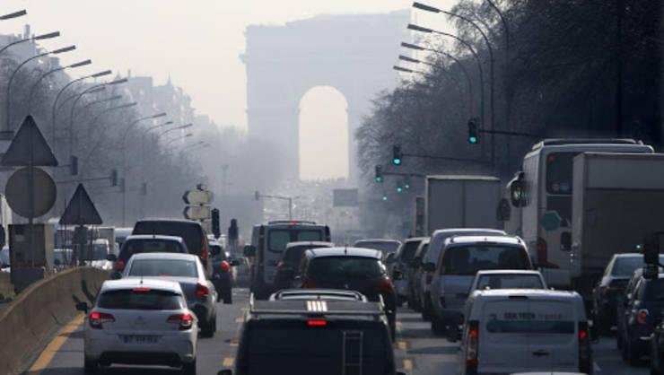 Poluarea cu particule fine a scăzut spectaculos în multe ţări pe fond de pandemie…