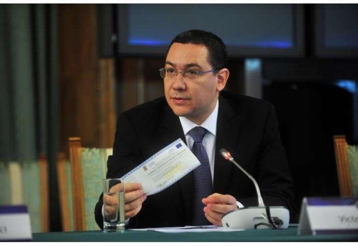 Premierul României, Victor Ponta