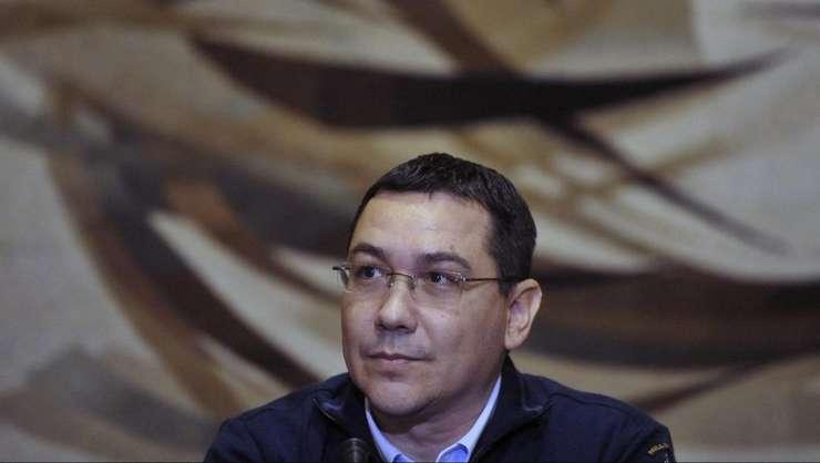 Premierul demisionar Victor Ponta