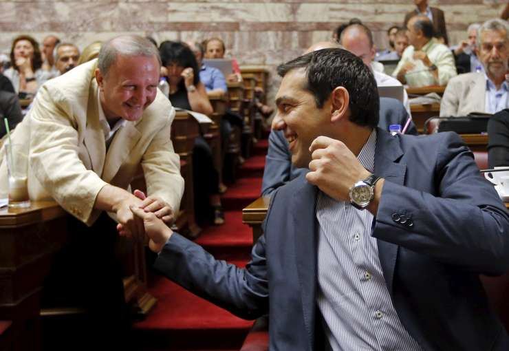Premierul grec, Alexis Tsipras (Foto: Reuters/Jean-Paul Pelissier)
