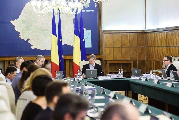 Cabinetul tehnocrat al lui Dacian Cioloş (Foto: www.gov.ro)