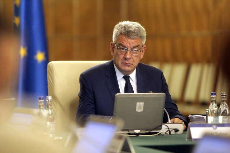 Premierul Mihai Tudose, aici în şedinţă de Guvern (Sursa foto: www.gov.ro)