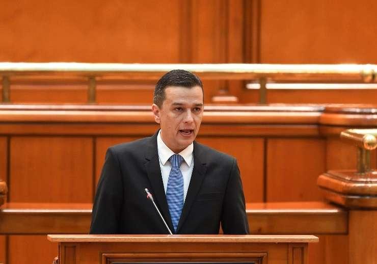 Premierul desemnat, Sorin Grindeanu (Foto: AFP/Daniel Mihăilescu)