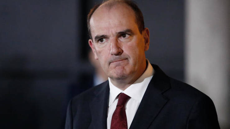 Premierul Frantei, Jean Castex, pe 5 iulie 2020.