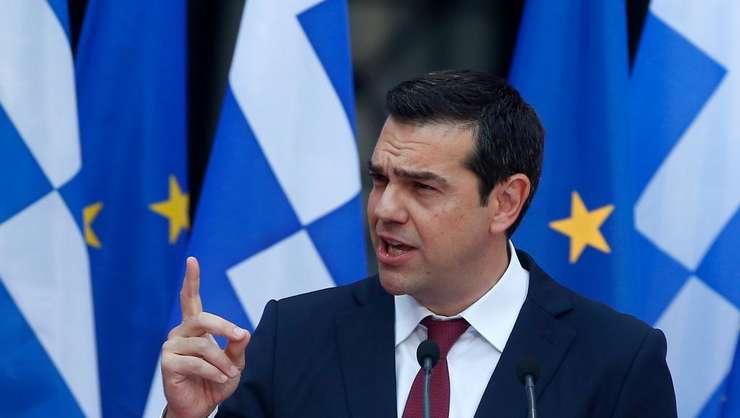 Premierul grec, Alexis Tsipras.