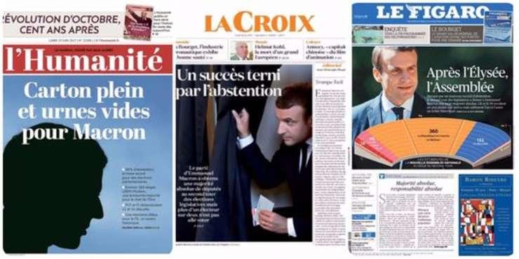 Presa francezà din 19 iunie 2017