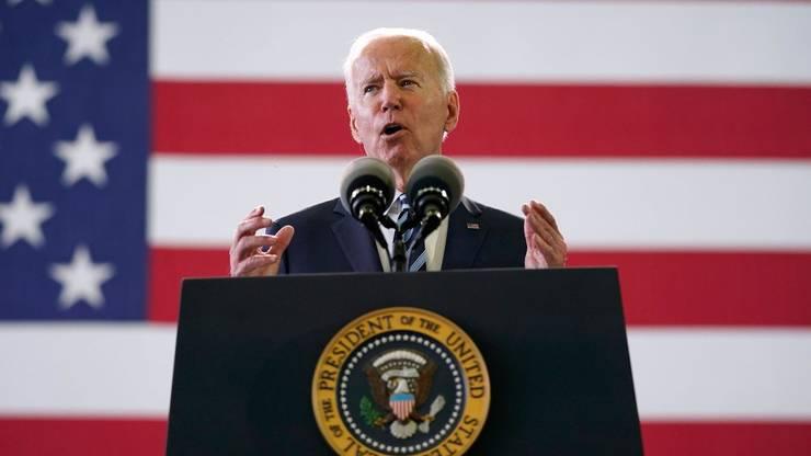 Presedintele american Joe Biden în Anglia, 9 iunie 2021.