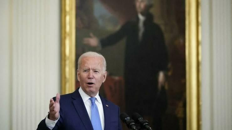 Presedintele american Joe Biden la Casa Alba pe 23 august 2021.