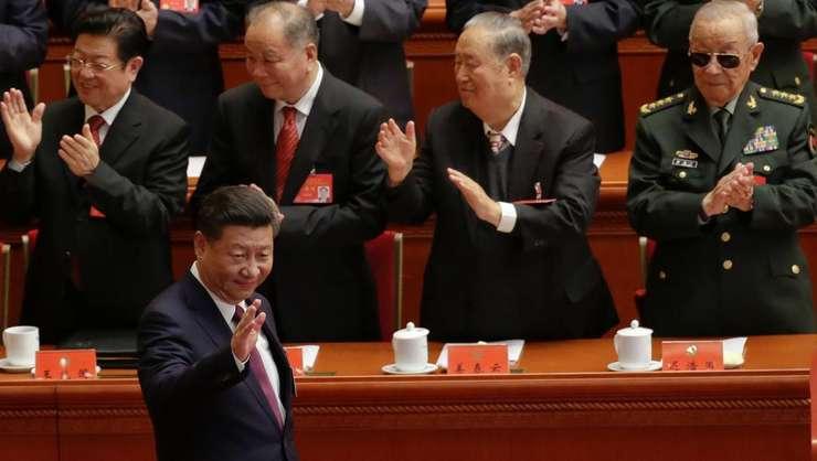 Presedintele Chinei Xi Jinping deschide cel de-al 19-lea Congres al Partidului comunist chinez, 18 octombrie 2017, Beijing