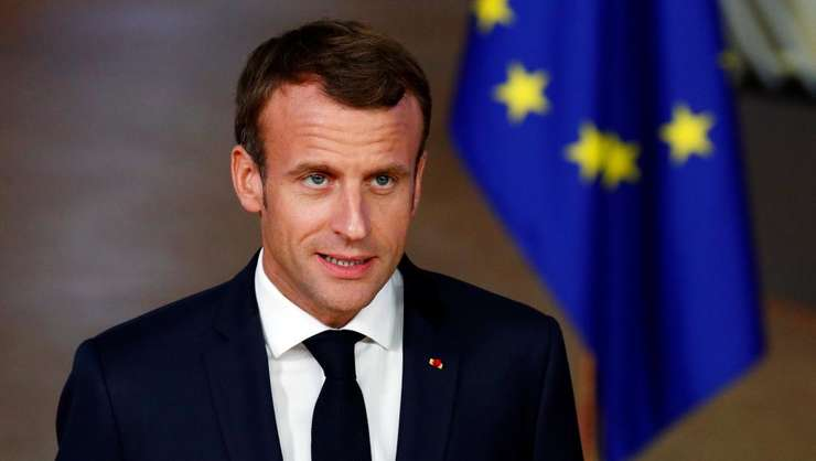 Presedintele Frantei, Emmanuel Macron.