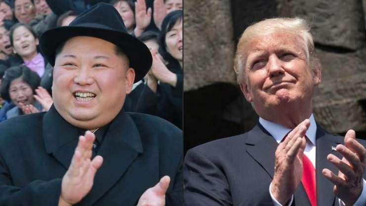 Presedintele nord-coreean Kim Jong-un (stânga) si omologul american, Donald Trump, se vor întâlni pe 12 iunie în Singapore
