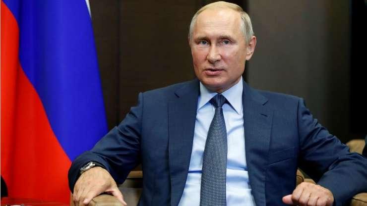 Presedintele rus Vladimir Putin.