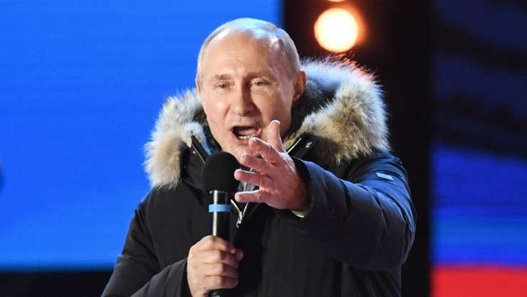 Presedintele Rusiei, Vladimir Putin, aici la Moscova în martie 2018.
