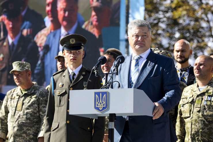 Presedintele ucrainean, Petro Porosenko