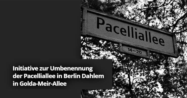 Iniţiativa redenumirii aleii Pacelli din Berlin (pagină web)