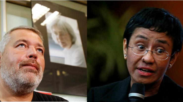 Nobelul pentru pace 2021 a fost atribuit jurnalistilor Maria Ressa si Dmitri Muratov.
