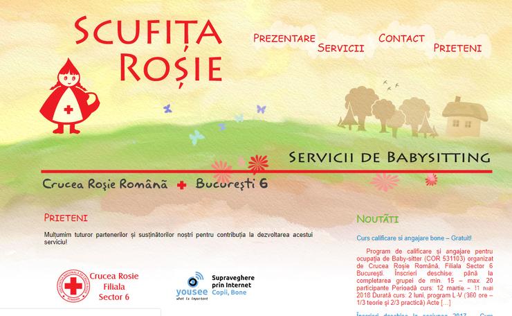 Scufita Rosie Bone Crucea Rosie