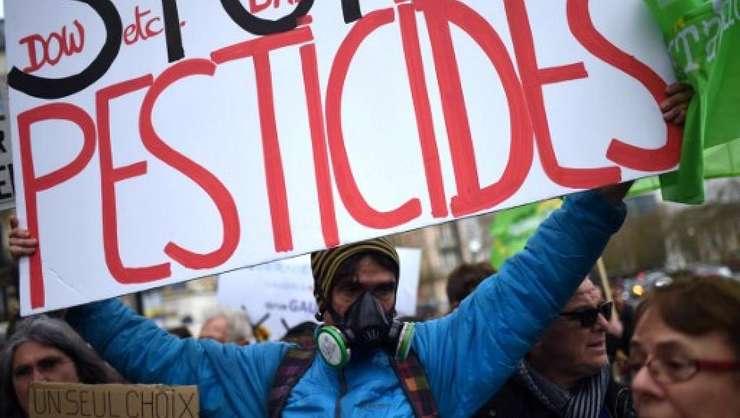 Protest împotriva utilizarii pesticidelor, 26 martie 2016, Paris.