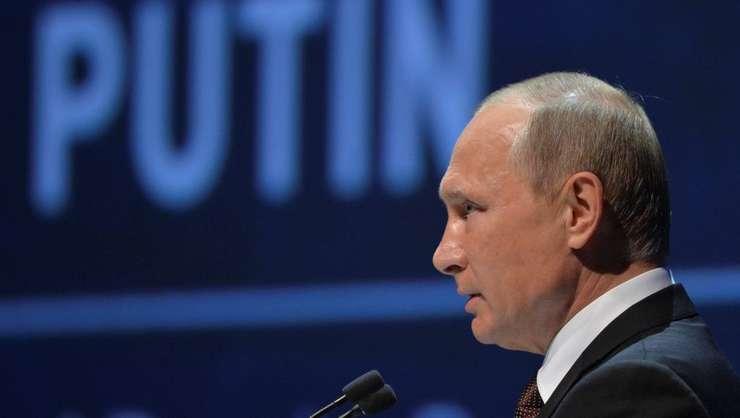 Presedintele Rusiei, Vladimir Putin, la Istanbul în octombrie 2016