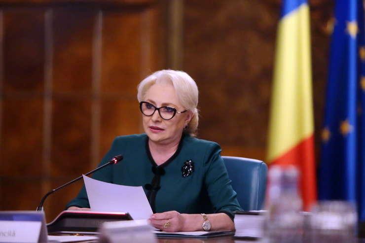 Premierul Viorica Dăncilă a criticat scrisoarea recentă a lui Frans Timmermans (Foto: gov.ro)
