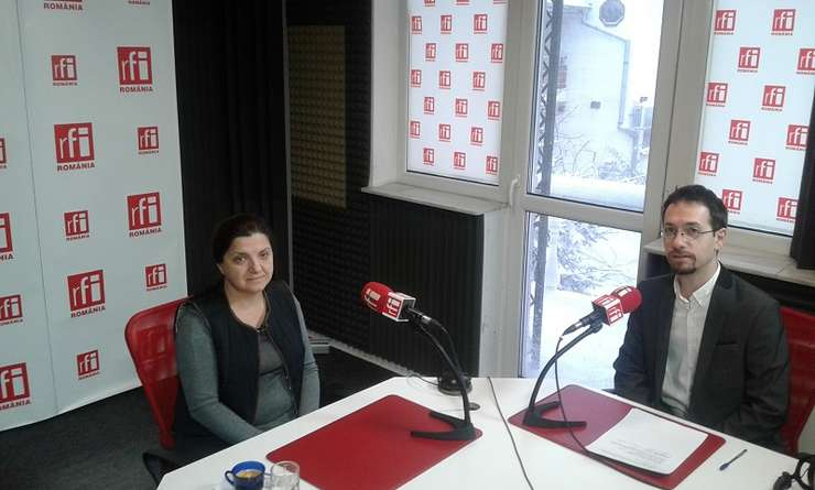 Fostul ministru al Justiţiei Raluca Prună, în studioul RFI