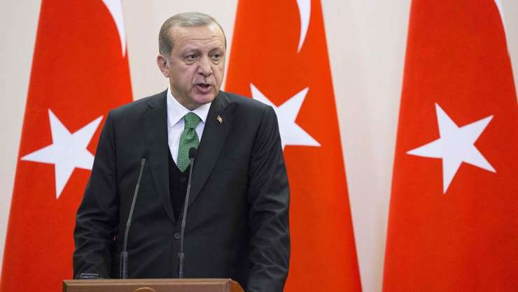 Recep Tayyip Erdogan este primit la Casa Alba de Donald Trump