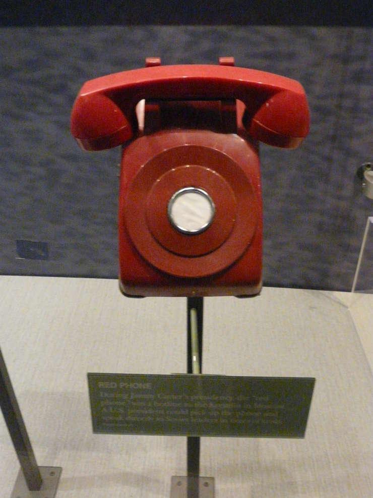 O linie roşie a funcţionat în timpul Războiului Rece
