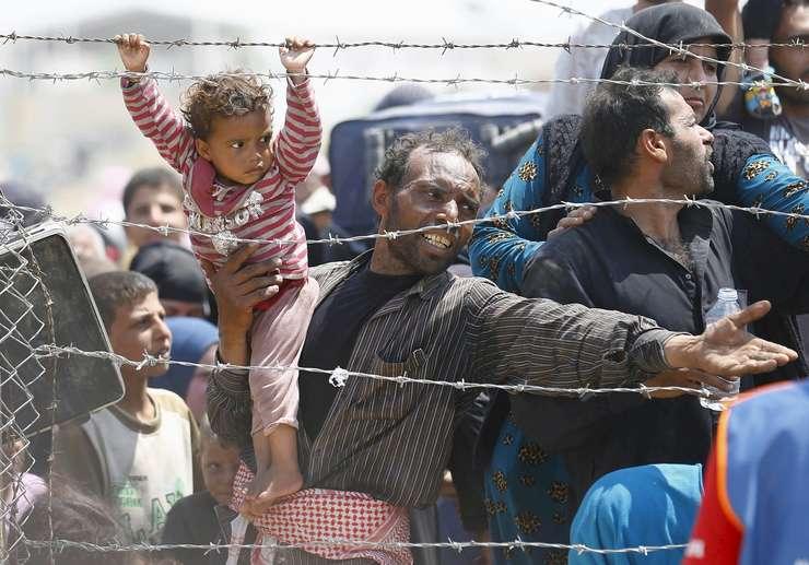 În topul regiunilor care adăpostesc refugiați, Europa este abia pe locul trei.