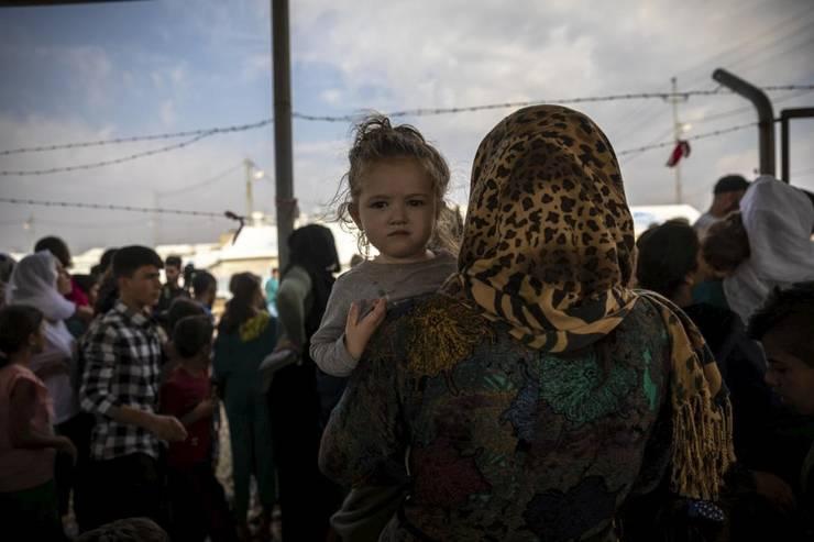 Tabără de refugiați în Turcia