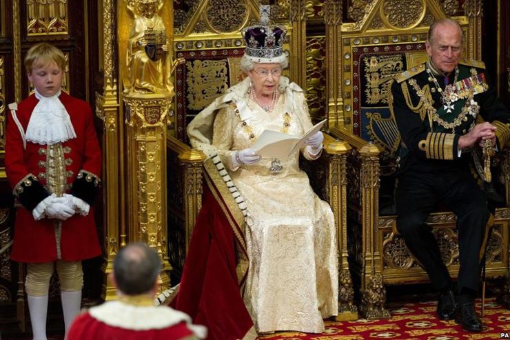 Regina Elisabeta a II-a și Prințul consort Philip