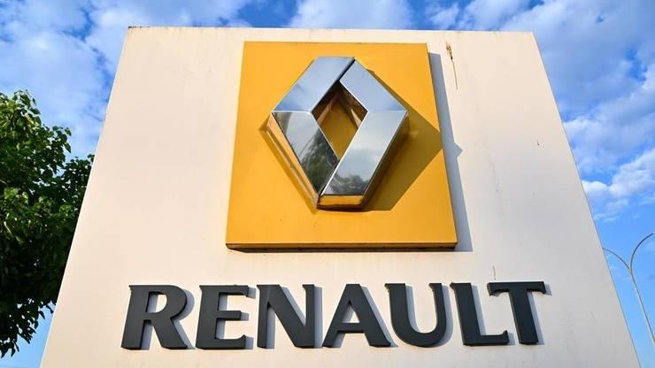 Intrarea în uzina Renault de la Choisy-le-Roi, iulie 2020.
