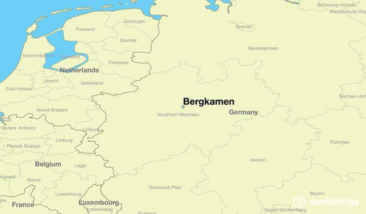Bergkamen, oraş din nord-vestul Germaniei