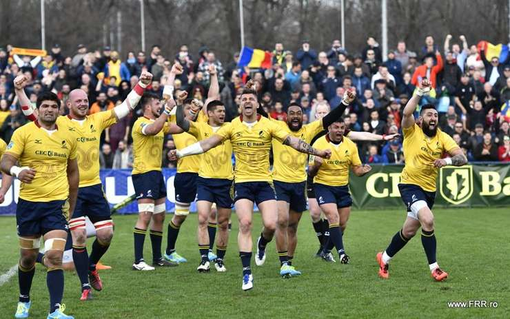 România a învins Georgia pentru prima oară în șapte ani