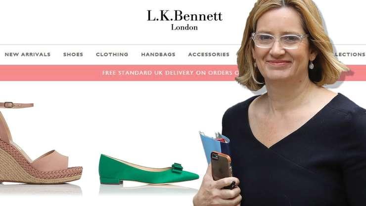 Amber Rudd L.K.Bennett