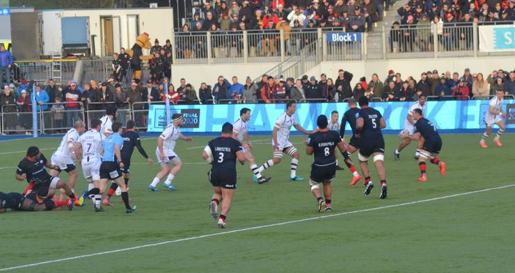 Saracens 62 Worcester Warriors 5
