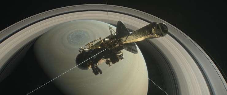 Sonda Cassini îşi încheie misiunea pe Saturn (Sursa foto: site NASA)