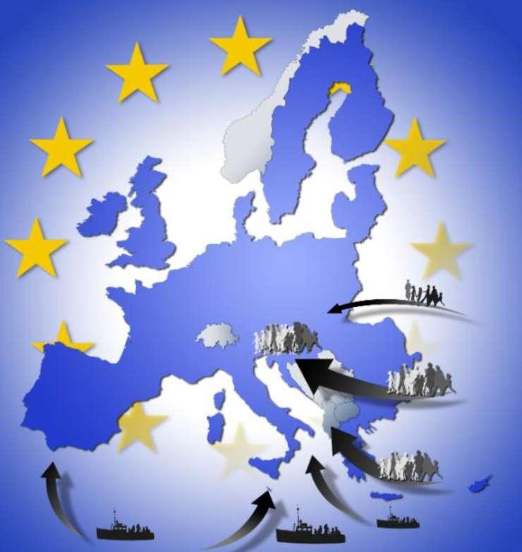 Fluxurile migratorii înspre spatiu Schengen
