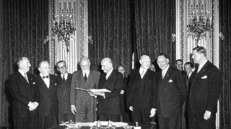 Uniunea Europeana marcheaza maine, la Roma, 60 de ani de existenta