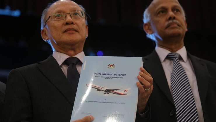 Seful anchetei, Kok Soo Chon a prezentat luni 30 iulie raportul final asupra disparitiei avionului MH370