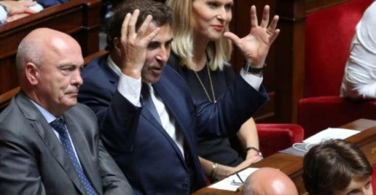 Seful deputatilor Les Republicains, Christian Jacob la Adunarea Nationala, aici pe 10 iulie 2018, a fost primul care a anuntat ca va protesta împotriva guvernului printr-o motiune de cenzura