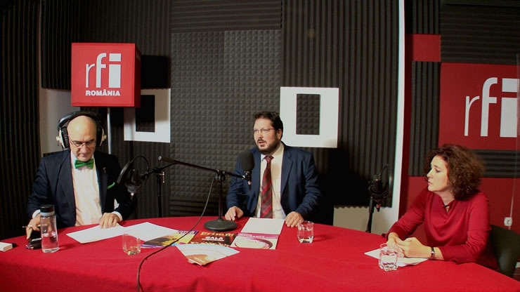 Sergiu COSTACHE, Paul SWOBODA si Adina MĂNDOIU la radio