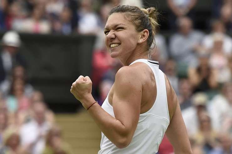 Simona Halep, la Wimbledon (Foto: Reuters/Toby Melville)